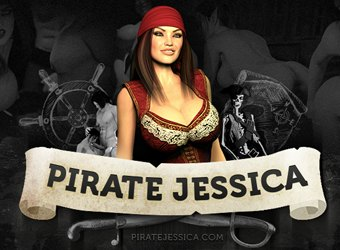 3D monsters in Pirate Jessica game review download