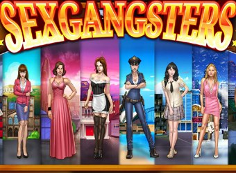 Free Sexgangsters browsergame with cartoon sex gangsters