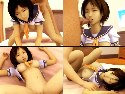 Cartoon asian girl gives blowjob